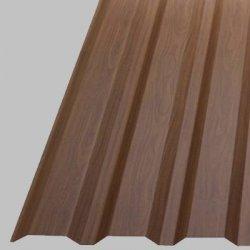 Profilbleche - Trapezplatten - W20 - Dachplatten - Holzoptik