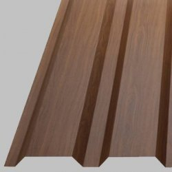 Profilbleche - Trapezplatten - W35 - Wandplatten - Holzoptik
