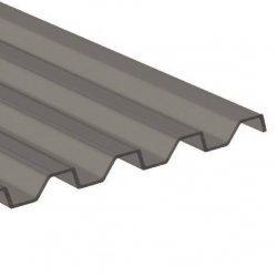 PC Trapezplatte 76 / 18 - unstrukturiert - Athermic / silbermetallic
