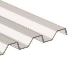 ACRYL Lichtplatten - Struktur glatt - Trapezprofil