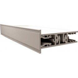 ZEVENER SPROSSE - PVC Abschlussprofil -  Randprofil - 10mm