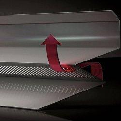 Selbstentlüftender Wandanschluss - 2000mm Länge - 0,50mm Stärke - 25µm Polyester