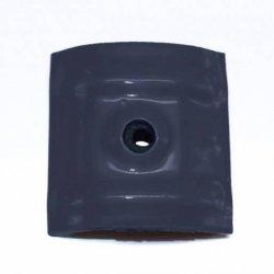 Kalotten - Typ W24 - Sinus 76/18 - 100 Stück - perlgrim / anthrazit grau