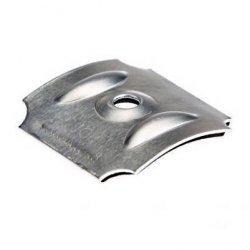 Kalotten - Typ W48 - Sinus 177/51 - 100 Stück - Aluminium pressblank