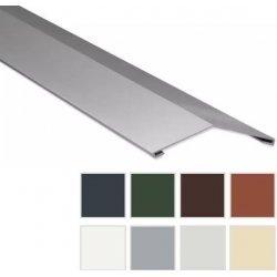 Firstblech flach - Stahl - 2000 x 145 x 145mm - 0,63mm Stärke - 25 µm Polyester
