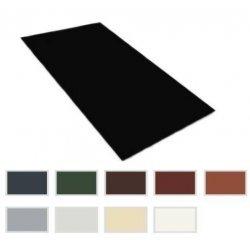 Flachbleche - Stahl - 0,63mm Stärke - Breite  1250mm - 25µm Polyester Beschichtung