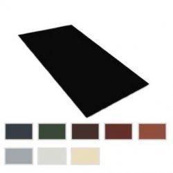 Flachbleche - Stahl - 0,75mm Stärke - Breite  1250mm - 25µm Polyester Beschichtung