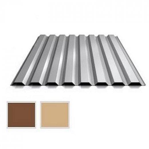 Wandblech Profilblech St/ärke 0,50 mm Trapezblech Profil PS20//1100TW Beschichtung 60 /µm Farbe Anthrazitgrau Material Stahl