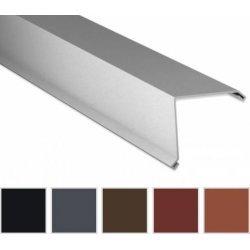 Ortgangwinkel - Stahl - 2000 x 115 x 115mm - 90° - 0,50mm Stärke - 35 µm Mattpolyester