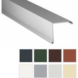 Ortgangwinkel - Stahl - 2000 x 115 x 115mm - 90° - 0,63mm Stärke - 25 µm Polyester