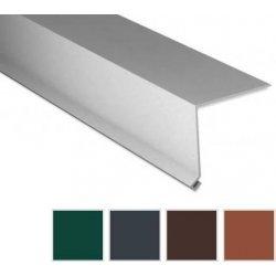 Traufenblech - Stahl - 2000 x 50 x 50mm - 90° - 0,50mm Stärke - 60 µm TTHD