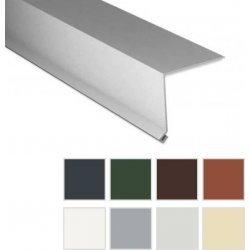 Traufenblech - Stahl - 2000 x 50 x 50mm - 90° - 0,63mm Stärke - 25 µm Polyester