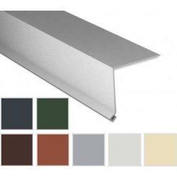 Traufenblech - Stahl - 2000 x 50 x 50mm - 90° - 0,75mm Stärke - 25 µm Polyester