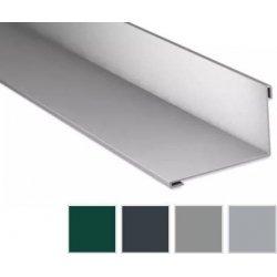 Wandanschluss - Aluminium - 2000 x 160 x 115mm - 95° - 0,50mm Stärke - 25µm Polyester