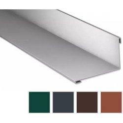 Wandanschluss - Stahl - 2000 x 160 x 115mm - 95° - 0,50mm Stärke - 60µm TTHD