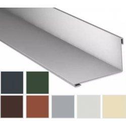 Wandanschluss - Stahl - 2000 x 160 x 115mm - 95° - 0,75mm Stärke - 25µm Polyester