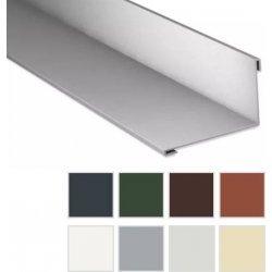 Wandanschluss - Stahl - 2000 x 160 x 115mm - 95° - 0,63mm Stärke - 25µm Polyester