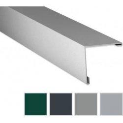 Aussenecke - Aluminium - 2000 x 195 x 195mm - 90° - 0,70mm Stärke - 25µm Polyester