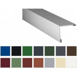 Aussenecke - Stahl - 2000 x 195 x 195mm - 90° - 0,50mm Stärke - 25µm Polyester