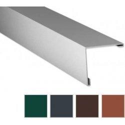 Aussenecke - Stahl - 2000 x 195 x 195mm - 90° - 0,50mm Stärke - 60µm TTHD