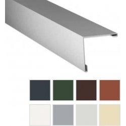 Aussenecke - Stahl - 2000 x 195 x 195mm - 90° - 0,63mm Stärke - 25µm Polyester