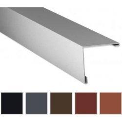 Aussenecke - Stahl - 2000 x 195 x 195mm - 90° - 0,50mm Stärke - 35µm Mattpolyester