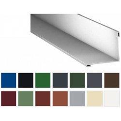 Innenecke - Stahl - 2000 x 115 x 115mm - 90° - 0,50mm Stärke - 25 µm Polyester