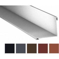 Innenecke - Stahl - 2000 x  115 x 115mm - 90° - 0,50mm Stärke - 35 µm Mattpolyester