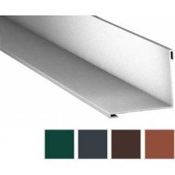 Innenecke - Stahl - 2000 x 115 x 115mm - 90° - 0,50mm Stärke - 60 µm TTHD