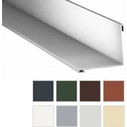 Innenecke - Stahl - 2000 x 115 x 115mm - 90° - 0,63mm Stärke - 25 µm Polyester