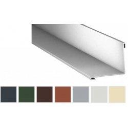 Innenecke - Stahl - 2000 x 115 x 115mm - 90° - 0,75mm Stärke - 25 µm Polyester