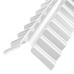 Montagezubehör - ACRYL Firsthaube - Sinus 76/18 - 1106x280x280mm - glasklar/ transparent