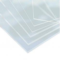 Acrylglas XT Massivplatten - Struktur glatt - 2050 x 1520mm - glasklar / transparent