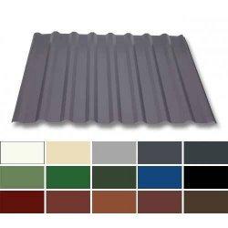 Trapezblech Stahl - Dachprofil W20/1100 - 0,50mm Stärke - 25 µm Polyester