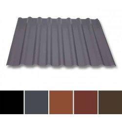 Trapezblech Stahl - Dachprofil W20/1100 - 0,50mm Stärke - 35 µm Mattpolyester