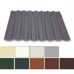 Trapezblech Stahl - Dachprofil W20/1100 - 0,63mm Stärke - 25 µm Polyester