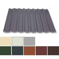 Trapezblech Stahl - Dachprofil W20/1100 - 0,75mm Stärke - 25 µm Polyester