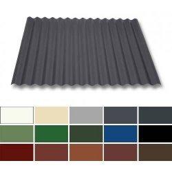 Wellblech Stahl - Dachprofil W1/1120 - 0,50mm Stärke - 25 µm Polyester