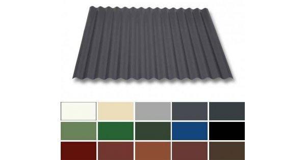 wellblech stahl dachprofil w1 1120 0 50mm st rke 25. Black Bedroom Furniture Sets. Home Design Ideas