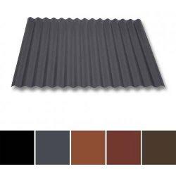 Wellblech Stahl - Dachprofil W1/1120 - 0,50mm Stärke - 35 µm Mattpolyester