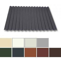 Wellblech Stahl - Dachprofil W1/1120 - 0,63mm Stärke - 25 µm Polyester