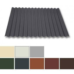Wellblech Stahl - Dachprofil W1/1120 - 0,75mm Stärke - 25 µm Polyester