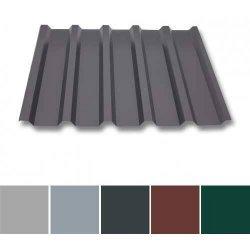 Trapezblech Aluminium - Wandprofil W35/1070 - 0,70mm Stärke - 25 µm Polyester