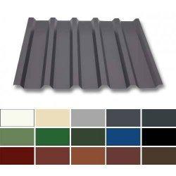 Trapezblech Stahl - Dachprofil W35/1070 - 0,50mm Stärke - 25 µm Polyester