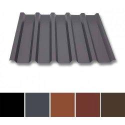 Trapezblech Stahl - Wandprofil W35/1070 - 0,50mm Stärke - 35 µm Mattpolyester