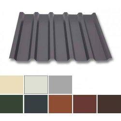 Trapezblech Stahl - Wandprofil W35/1070 - 0,75mm Stärke - 25 µm Polyester