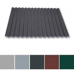 Wellblech Aluminium - Dachprofil W1/1120 - 0,70mm Stärke - 25 µm Polyester