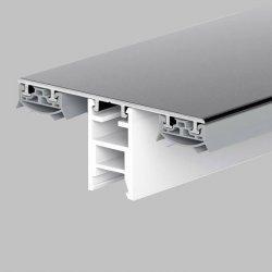 Aluminium Profile - Verlegesysteme für Stegplatten - Thermon / Schraub Profil SET