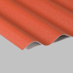 Profilbleche - Sinusplatten - Dach / Wand - Aluminium
