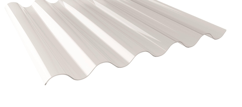 Glasklar Transparent Acryl Lichtplatte Struktur Glatt